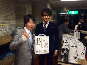 関コレ、中川実行委員長とツーショット