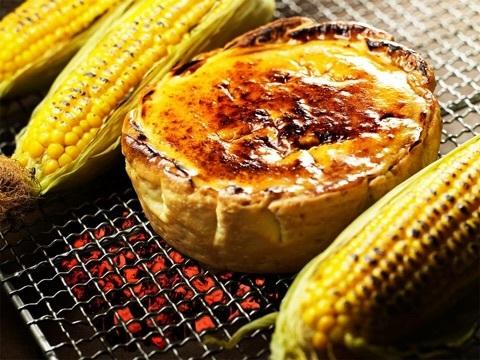 焼きトウモロコシチーズタルト