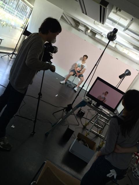 PV撮影カメラリハーサル
