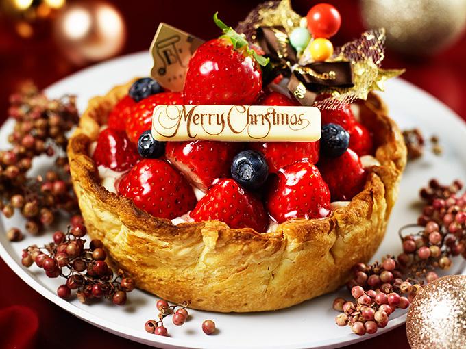 「たっぷり苺とベリーの贅沢チーズタルト」クリスマスバージョン