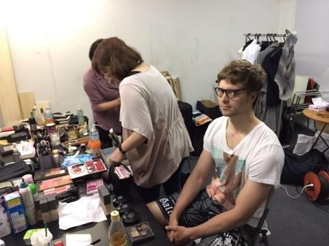PV撮影男性モデル セルゲイさん