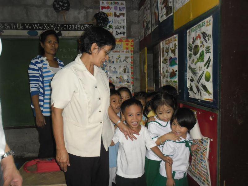 フィリピン パヤタス地区の子供達