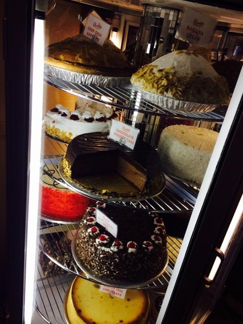 NYカーネギーのケーキ