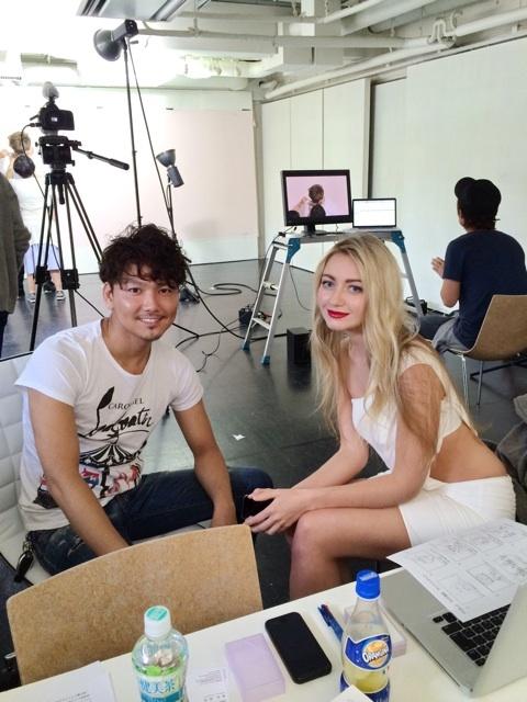 PV撮影男性モデル ターニャさん