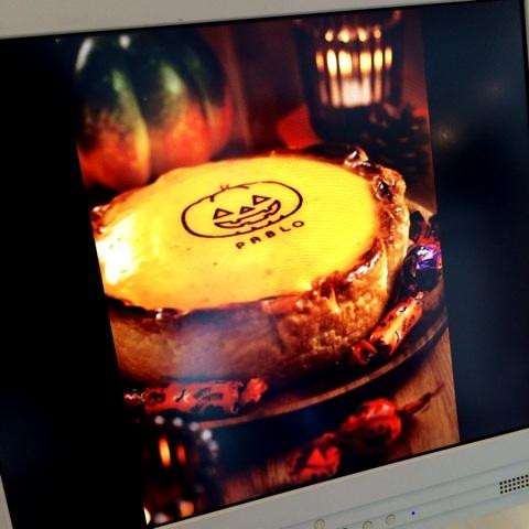 限定カボチャのチーズタルト